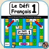 Le Défi Français 1 : French Board Game to Promote Speaking