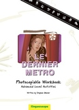 'Le Dernier métro' Photocopiable Workbook (Advanced Level