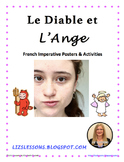 Le Diable et L'Ange! French Imperative Posters and Activities!