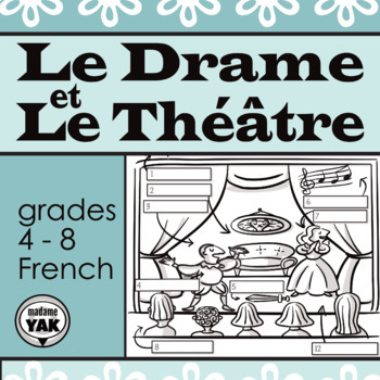 Le Drame et Le Théâtre: French Drama and Theatre Vocabulary