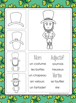 Le Farfadet Free writing prompt French St. Patrick's Day