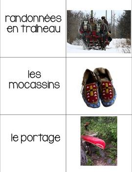 Le Festival du Voyageur French Vocabulary Games