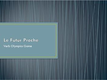 Le Futur Proche : Verb Olympics game