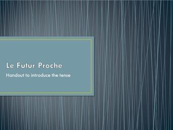 Le Futur Proche : introduction to the tense