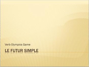 Futur Simple : Verb Olympics game