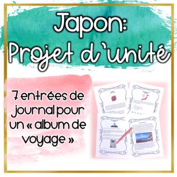 Le Japon - Projet d'unité