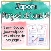 Le Japon - Projet d'unité (Distance Learning)