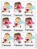 Sight Word Games in French with a Valentine's Day Theme (S