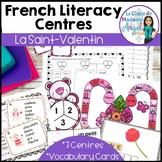 La Saint Valentin:  French Valentine's Day Literacy Centers