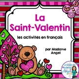 La Saint-Valentin:  French Valentine's Day Literacy Centers