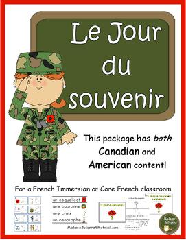 Le Jour du souvenir - French Remembrance Day (French Veterans Day)