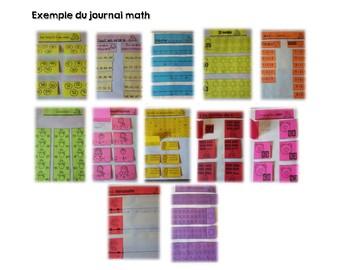 Le Journal Math Janvier