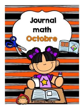 Le Journal math Octobre