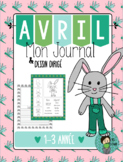 Le Lapin de Pâques Easter Writing Prompt French