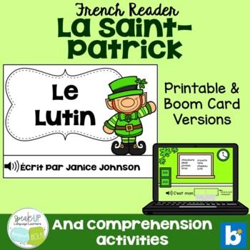 Le Lutin French Leprechaun ~ St. Patrick's Day reader {en