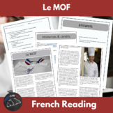 Le MOF - reading for intermediate/advanced French with questions