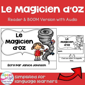 Le Magicien d'Oz French Wizard of Oz Reader