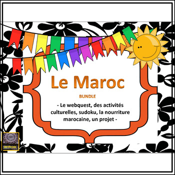 Le Maroc – French Morocco Unit – BUNDLE