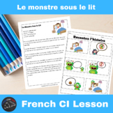 Le Monstre Sous le Lit - Comprehensible Input Video for French Learners