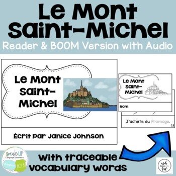 Le Mont Saint-Michel Reader & Vocab work ~ Simplified for
