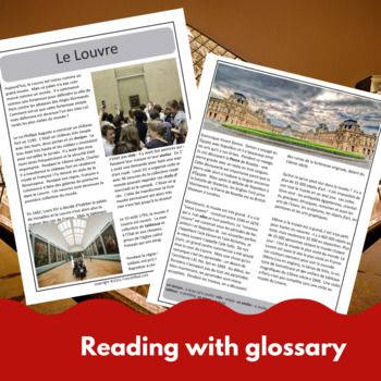 Le Musée du Louvre - reading for beginning/intermediate French learners
