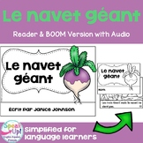 Le Navet Géant French The Enormous Turnip Reader ~ Simple for Language Learners
