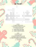 Le Noël  Crossword