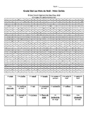 Le Noël: French Christmas Vocabulary Wordsearch (Grade 5&6)