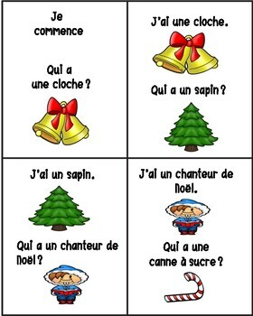 Le Noël - J'ai...Qui a?