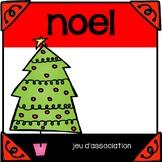 Le Noël - Jeu d'association