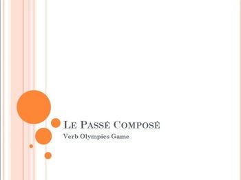 Le Passé Composé : Verb Olympics Game (P.C. with AVOIR only)
