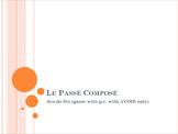 Le Passé Composé with AVOIR : Jeu de Six game