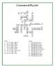 Le Passé Composé - Crossword Puzzle