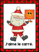 Christmas Themed Emergent Reader in French: Le Père Noël a