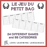 Le Petit Bac - French Scattergories Game