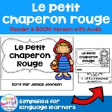 Le Petit Chaperon Rouge | French Reader Print & Boom Cards with Audio | français