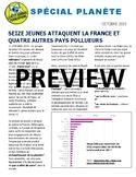 Le Petit Journal Francophone - Spécial Planète (bundle)