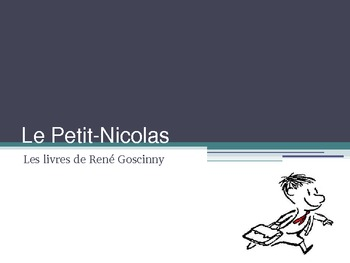 Le Petit Nicolas - An introductory powerpoint to the books or movie