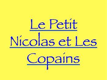 Le Petit Nicolas et Les Copains : guide for ch. 8