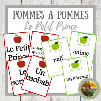 Le Petit Prince: Apples to Apples style game