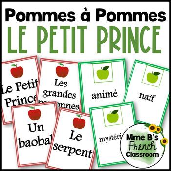 """Le Petit Prince: """"Pommes à Pommes"""" game"""