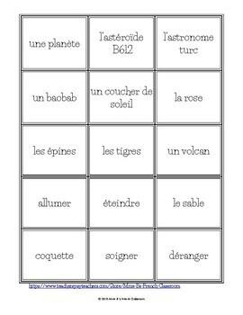 Le Petit Prince Circumlocution game