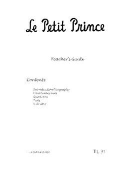 Le Petit Prince-Teacher's Guide