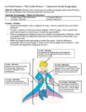 Le Petit Prince / The Little Prince - Character Body Biography Project