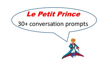 Le Petit Prince, The Little Prince Conversation Prompts
