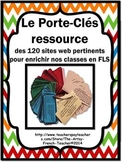 Le Porte-Clés Ressource des 120 sites web pour FLS - 120 Great sites for French