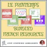 Le Printemps - Bundled French Resources