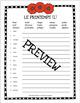 Le Printemps Méli-Mélo - French Scrambled Words for Spring