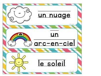 Le printemps:  Spring Themed Literacy Activities in French