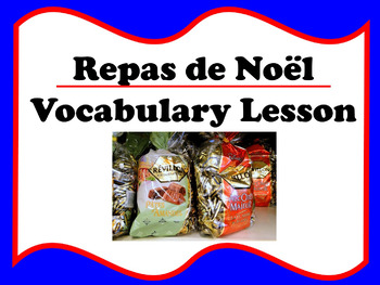 Le Repas de Noël Vocab Lesson